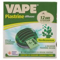 VAPE Piastrine Elettroemanatore Verde Essenza