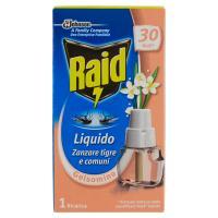 Raid Liquido Zanzare tigre e comuni Gelsomino 1 Ricarica