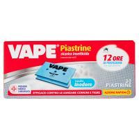 "VAPE Piastrine Mat ""e"" ricarica insetticida Inodore"