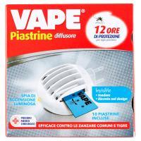 """Vape Piastrine Mat """"e"""" Invisible diffusore +"""
