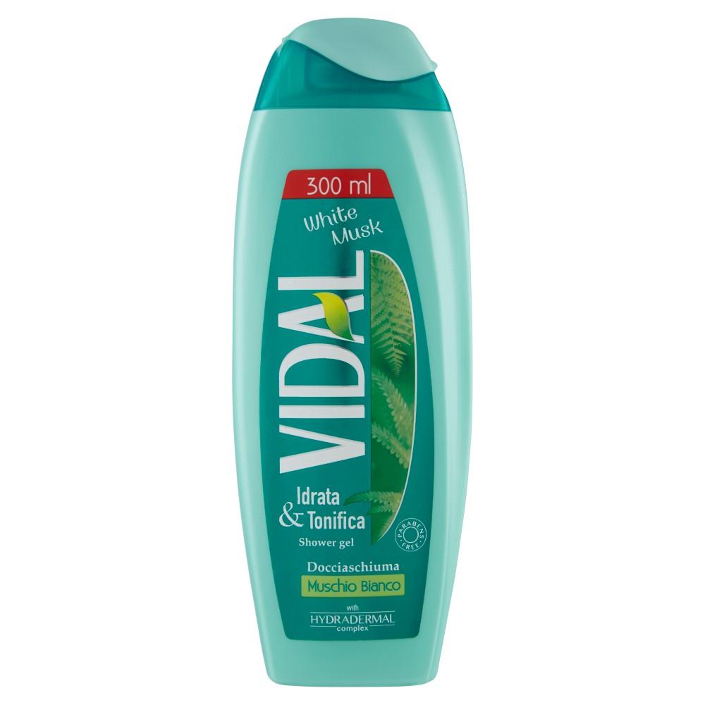Vidal doccia muschio bianco
