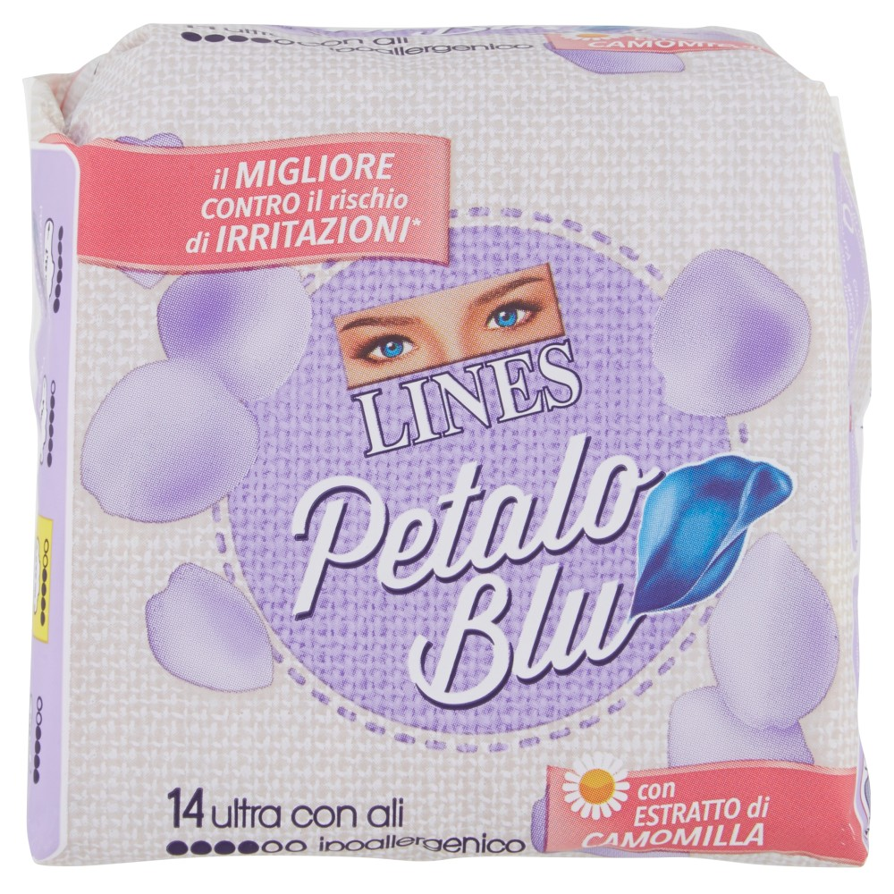 Lines Petalo Blu Ultra con Ali