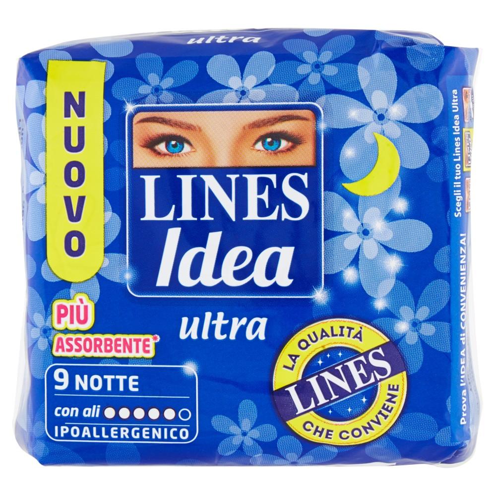 Lines Idea ultra Notte con ali