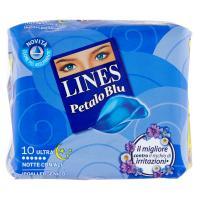 Lines Petalo Blu Ultra Notte con Ali