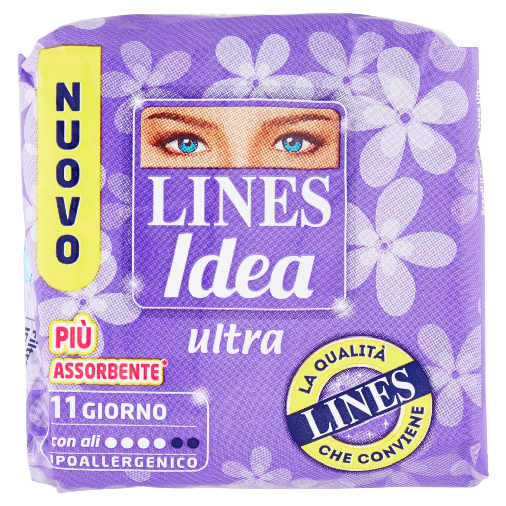 Lines Idea ultra Giorno con ali