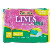 Lines intervallo Velo Pocket Proteggislip Ripiegati