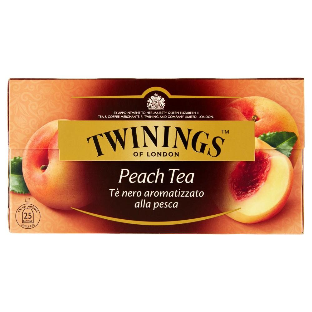 Twinings Peach Tea 25 filtri