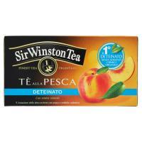Sir Winston Tea Tè alla Pesca Deteinato 20 bustine