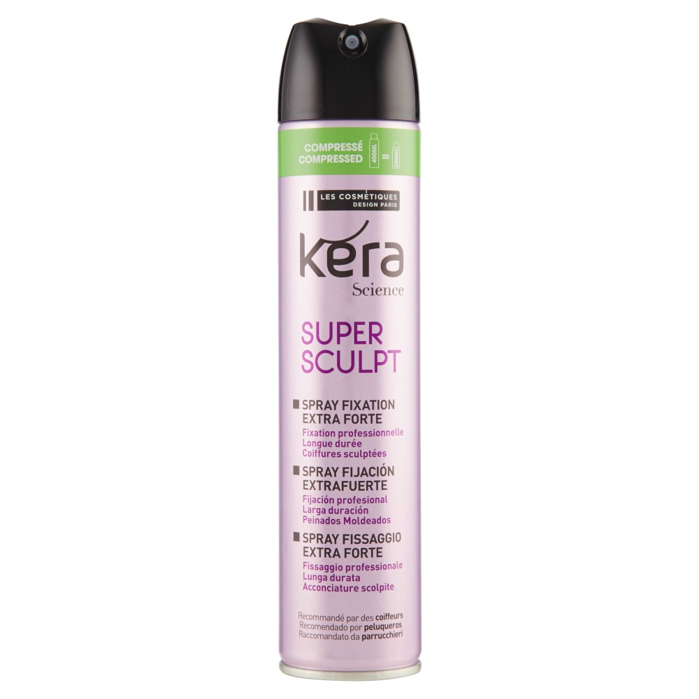 Kera Science Super Sculpt Spray Fissaggio Extra Forte