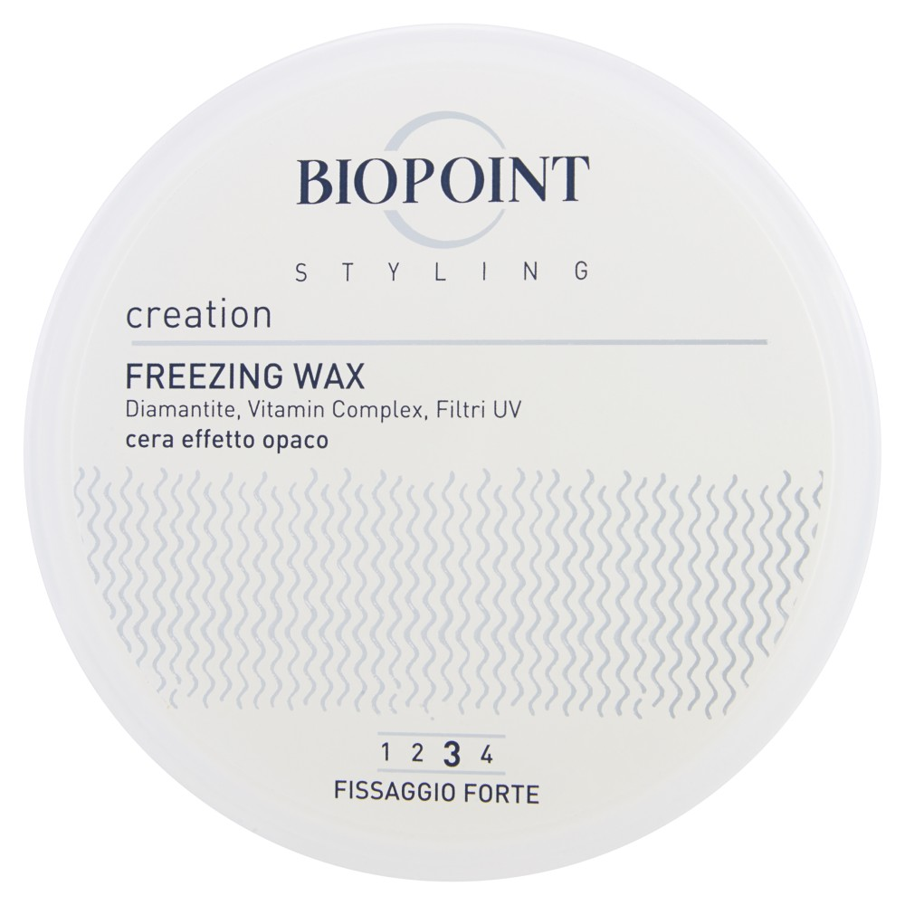 Biopoint Styling Creation Freezing wax fissaggio forte