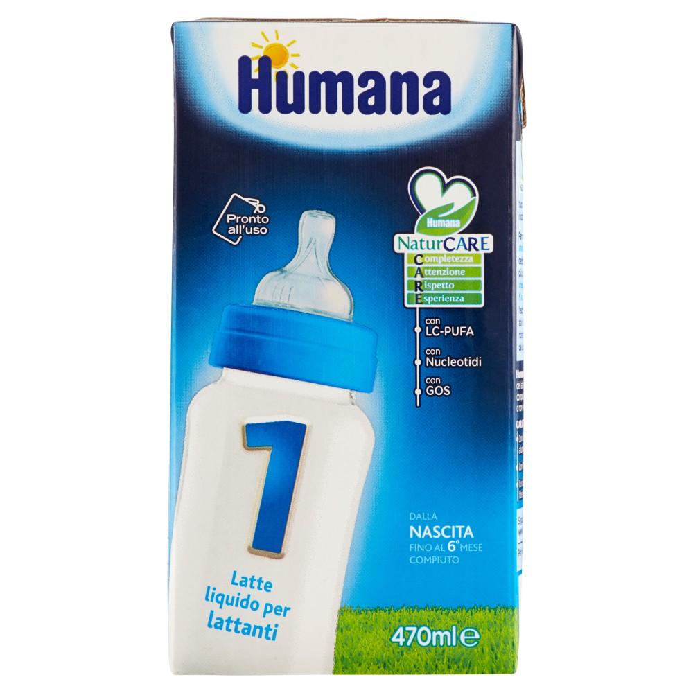 Humana 1 Latte liquido per lattanti