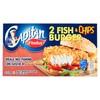 Capitan Findus 2 Fish & Chips Burger