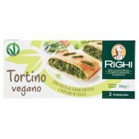 Righi Tortino vegano con Pasta ai Grani Antichi e Ripieno 8 Foglie