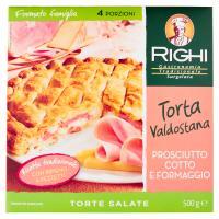 Righi Torte Salate Torta Valdostana Prosciutto Cotto e Formaggio