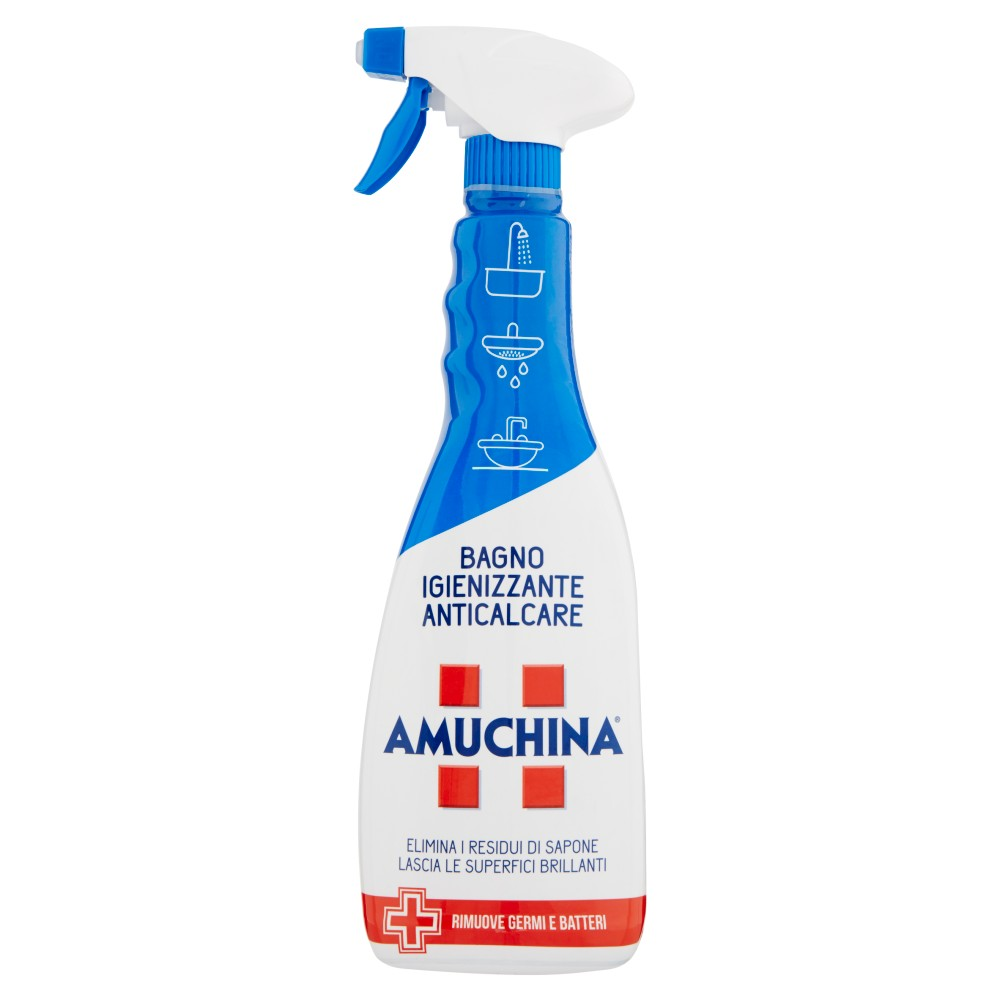 Amuchina - Spray Bagno, Igienizzante Anticalcare