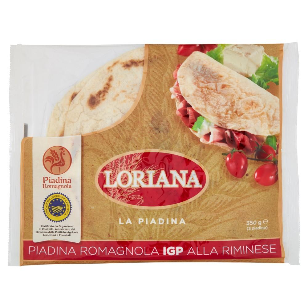 Loriana Piadina Romagnola IGP alla Riminese 3 pz