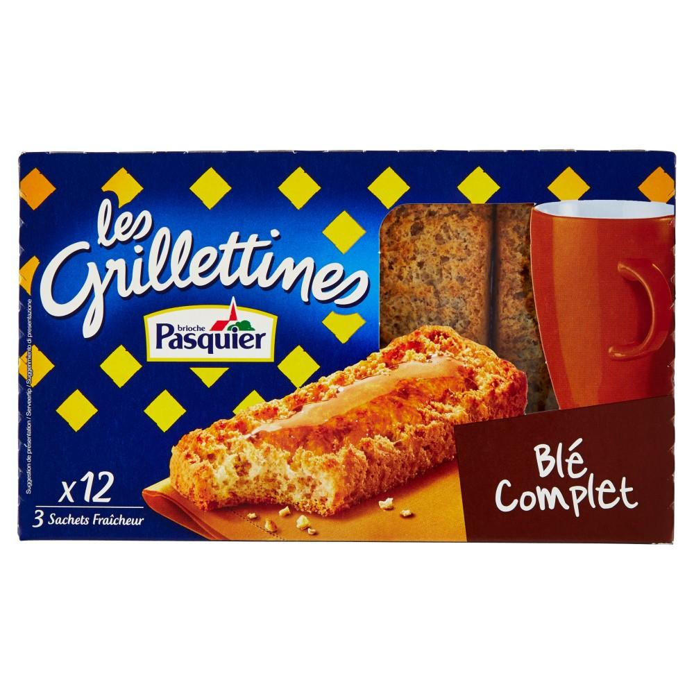 brioche Pasquier les Grillettines Blé Complet