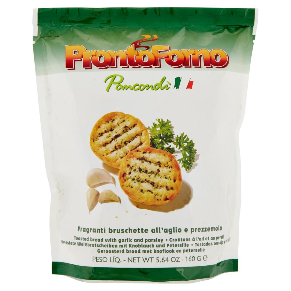 ProntoForno Pancondì Fragranti bruschette all'aglio e prezzemolo