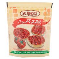 Sapori & Piaceri PanPizza Pane Tostato con Pomodoro, Olio di Girasole e Origano