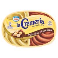 MOTTA LA CREMERIA Pistacchio e Gianduia gelato al pistacchio e al cacao e nocciole vaschetta