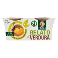 """Righi Gelato di Verdura Zucca 24% e salsa all' """"aceto balsamico di Modena I.G.P."""""""
