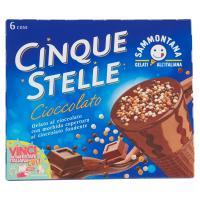 Sammontana Cono Cinque Stelle Cioccolato