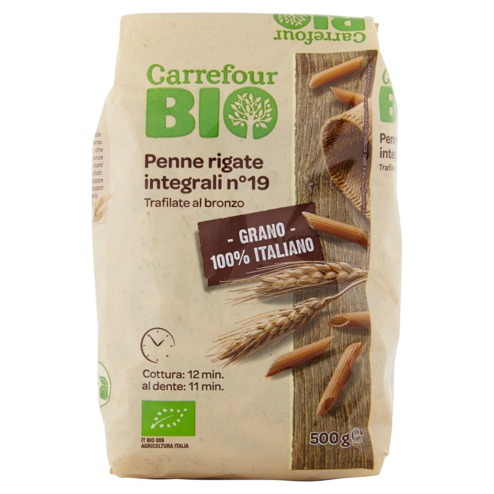 Carrefour Bio Penne rigate integrali n°19