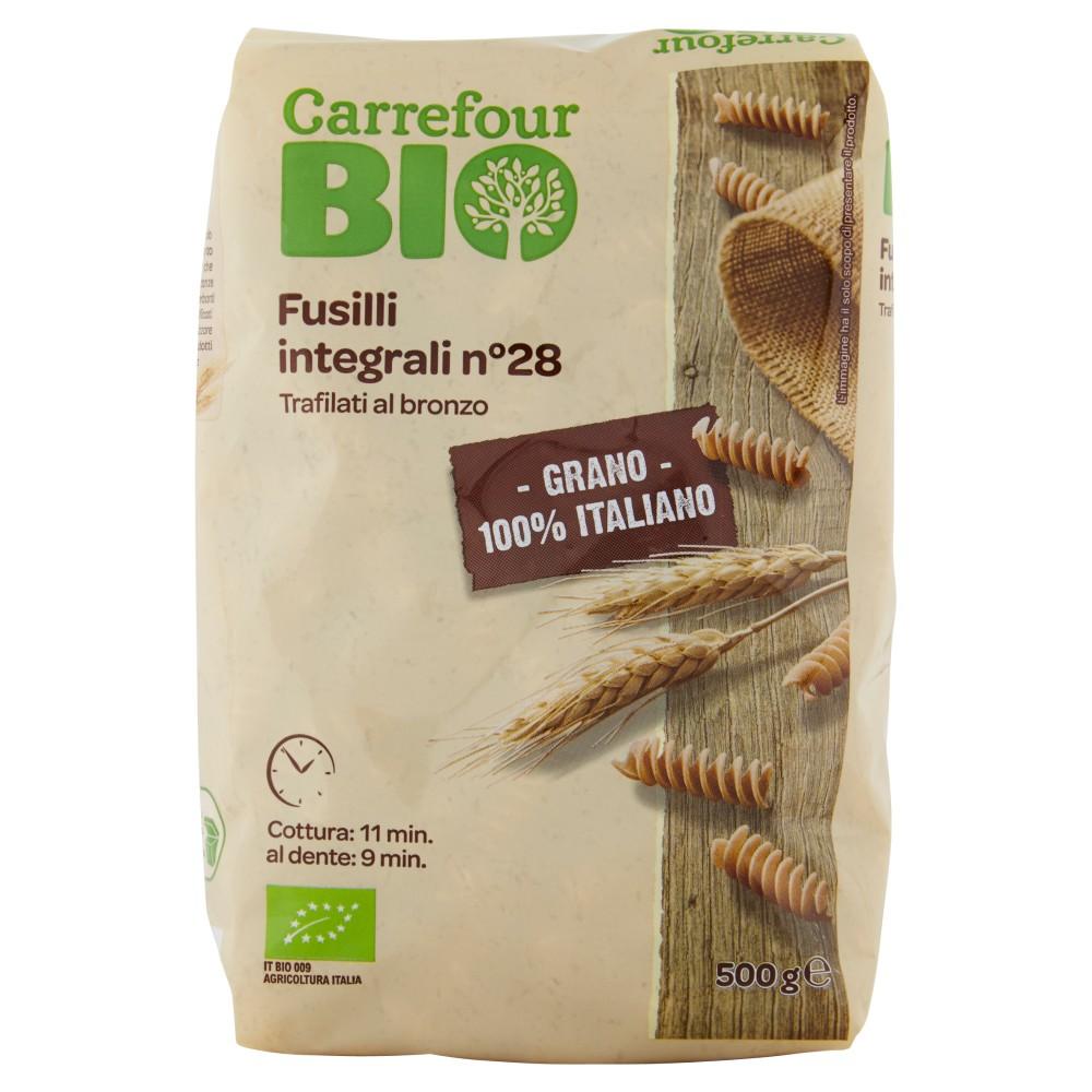 Carrefour Bio Fusilli integrali n°28