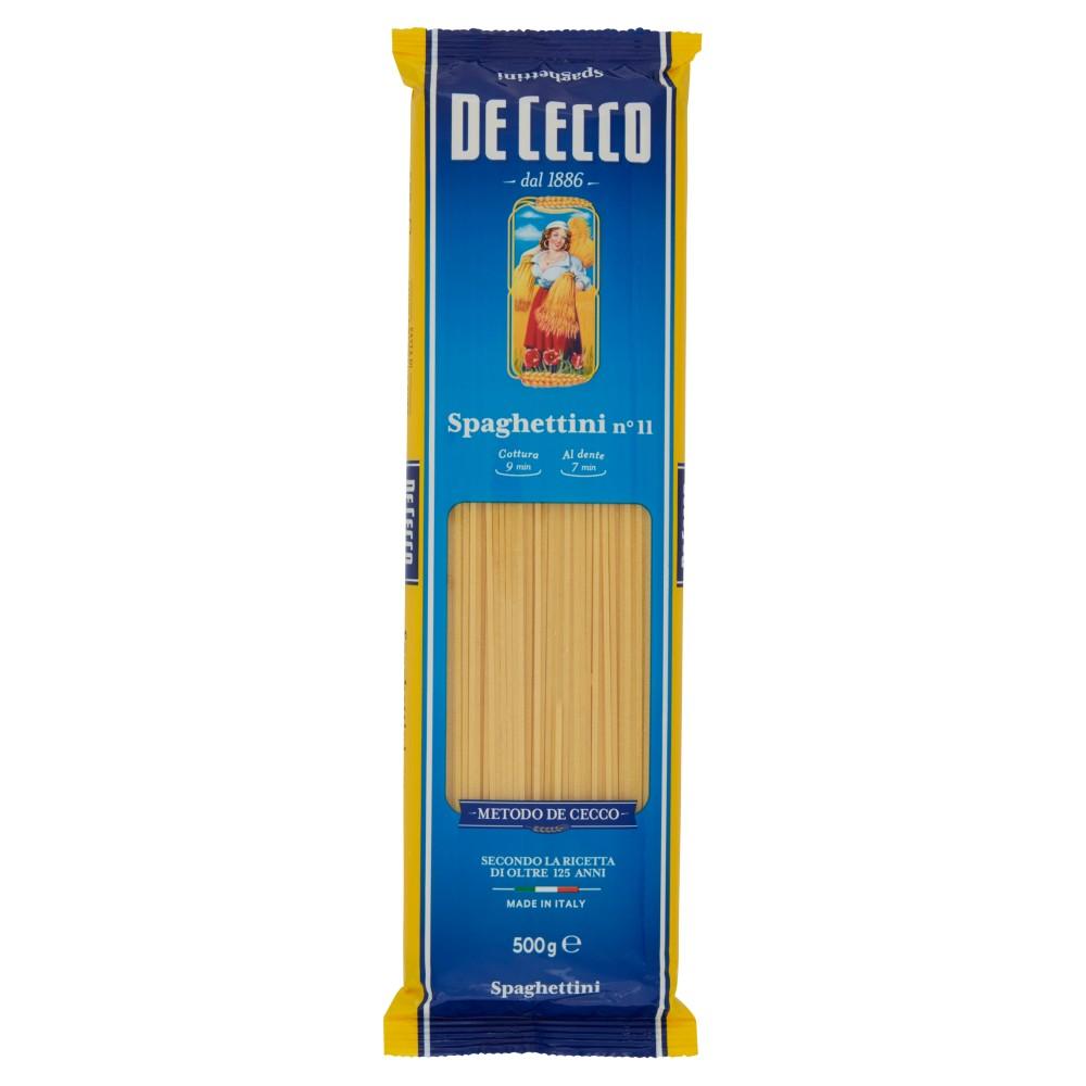 De cecco spaghettini n.11