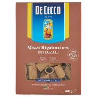 De Cecco Mezzi Rigatoni n° 26 Integrali
