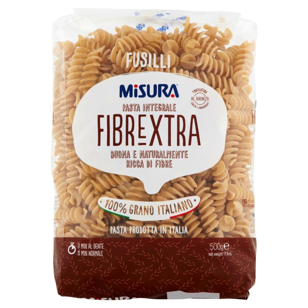 Misura Fusilli la pasta integrale con germe di grano