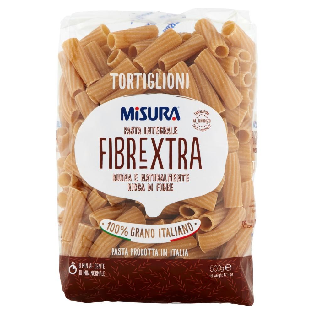 Misura Tortiglioni la pasta integrale con germe di grano
