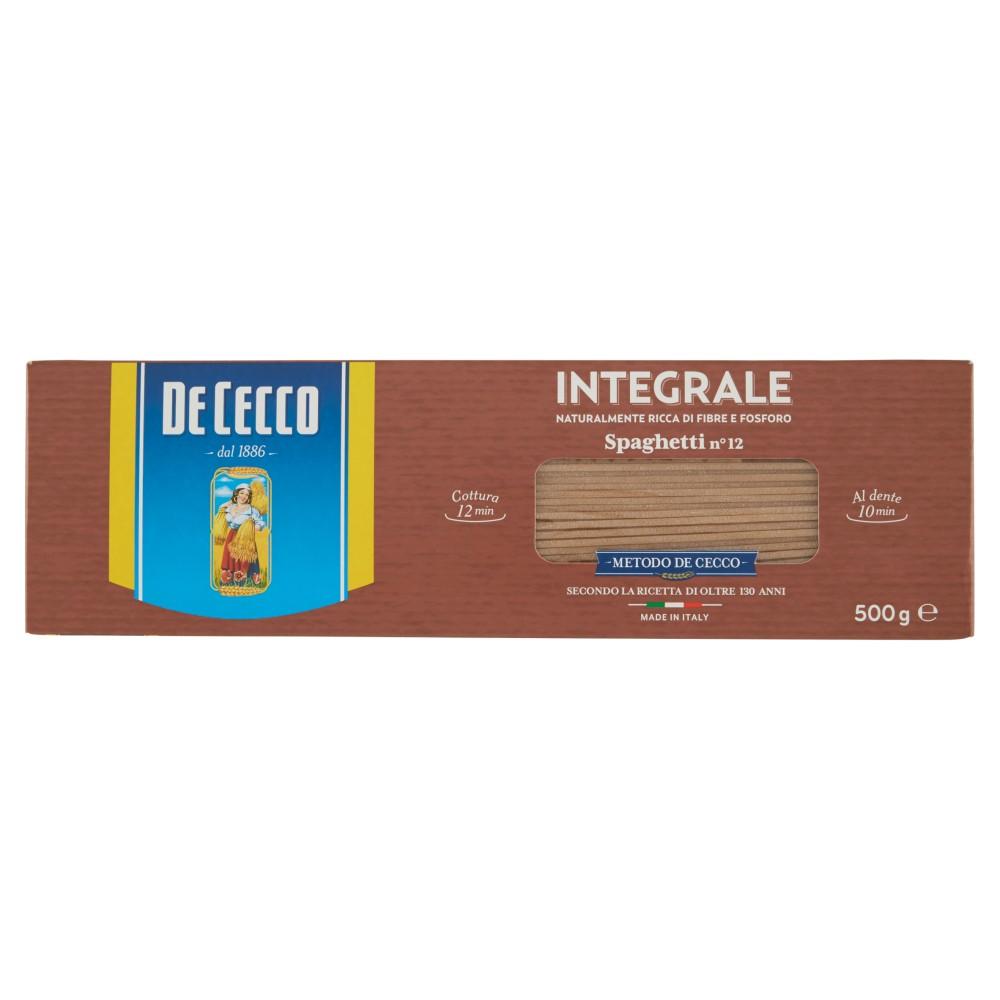 De Cecco Spaghetti n° 12 Integrali
