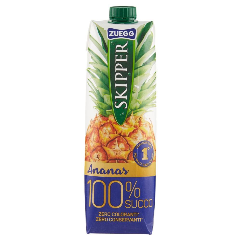 Zuegg Skipper 100% Succo in Purezza Ananas