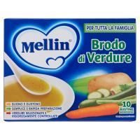 Mellin Brodo di verdure 10 bustine monodose