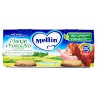 Mellin Manzo Prosciutto* e verdure Omogeneizzato con Carne e Verdure