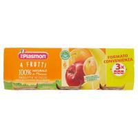 Plasmon 4 Frutti omogeneizzato