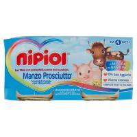 nipiol Manzo Prosciutto* Omogeneizzato con manzo, prosciutto* e cereale