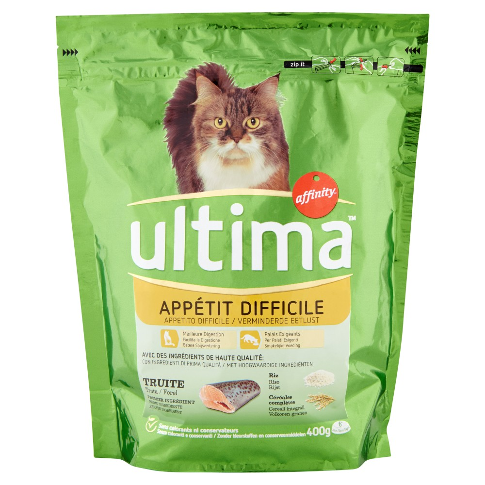 Ultima Cat Appetito Difficile Trota