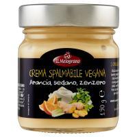 Il Melograno Bio&Veg Crema Spalmabile Vegana Arancia, sedano, zenzero