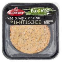 Il Melograno Bio&Veg Veg Burger 100% Bio di Lenticchie