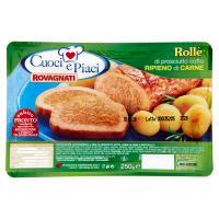 Rovagnati Cuoci e Piaci Rollè di prosciutto cotto Ripieno di Carne