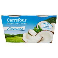 Carrefour Yogurt con Cocco Cremoso