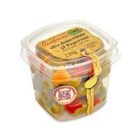 Olive denocciolate con peperoni