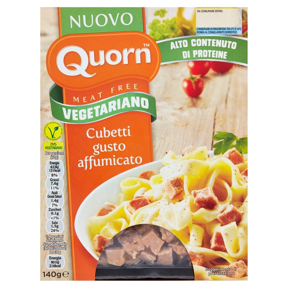 Quorn Cubetti Gusto Affumicato Vegetariani