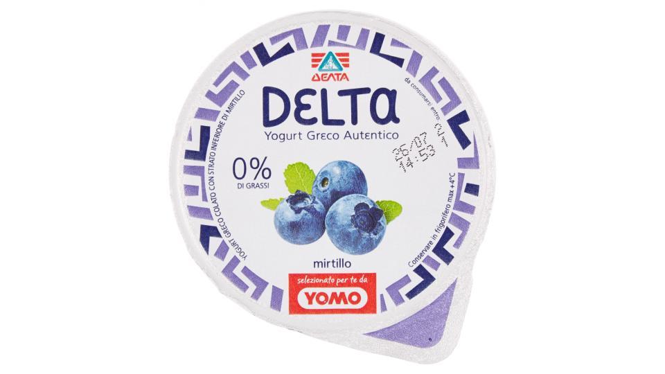 Delta Yogurt greco autentico mirtillo