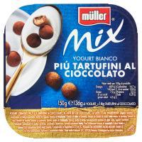 müller Mix Yogurt Bianco Più Tartufini al Cioccolato
