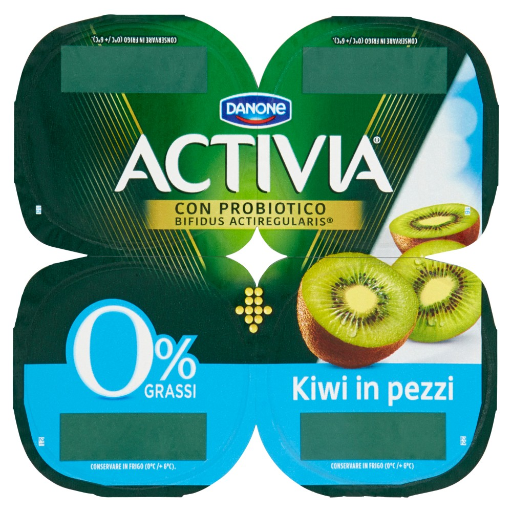 Activia 0% Grassi Kiwi in pezzi