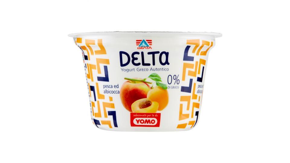 Delta Yogurt greco autentico pesca e albicocca