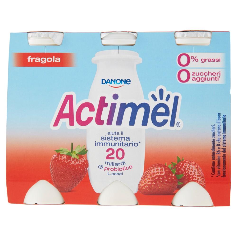 Actimel Fragola 0% Grassi